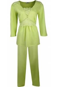 Piżama z koronką