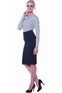 Bluzka w marynarskim stylu