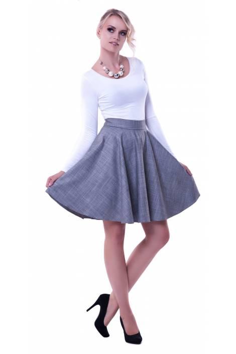 Spódnica z plisami