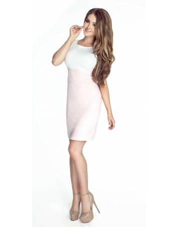 Dwukolorowa sukienka