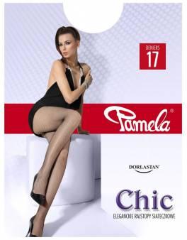 Rajstopy CHIC 17 Den, kabaretki 30-07