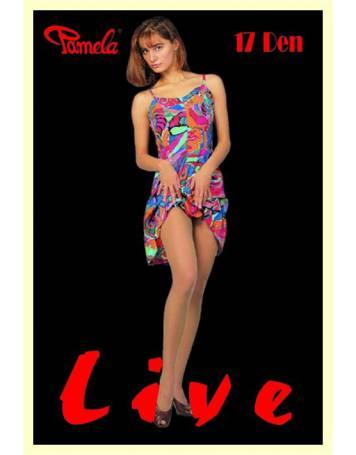 Rajstopy LIVE 17 Den, elastil 01-04
